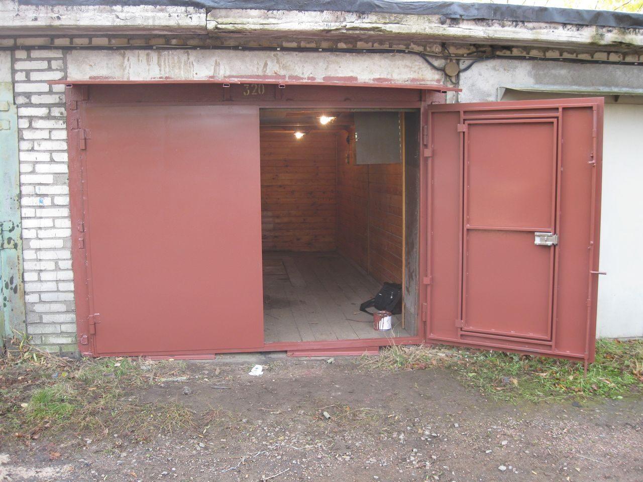 Промышленные ворота металлические распашные в Борзе
